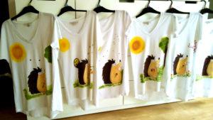 Állatos pólók - süni
