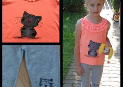 egyedi festett gyerek póló születésnapra, ajándékba