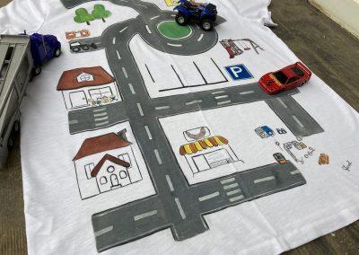 egyedi festett apa póló születésnapra, ajándékba