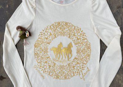 Ló mániás nagylánynak készült ez a póló