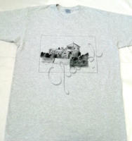 Ajándék férfiaknak - festett egyedi férfi póló.